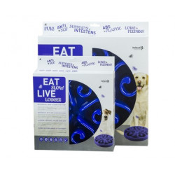 Eat Slow Live Longer Original Blue L