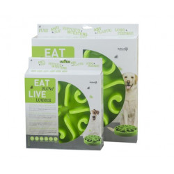 Eat Slow Live Longer Original Green L