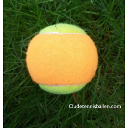 orange/ gelber Tennisball