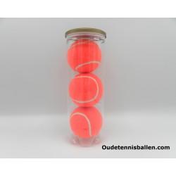 Kleuren tennisballen – oranje