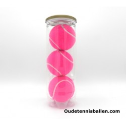 Tennis balls colors - pink