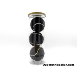 Tennisbälle Farbe - schwarz