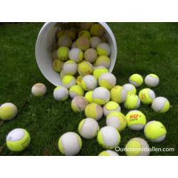 Wit/gele Tennisbal