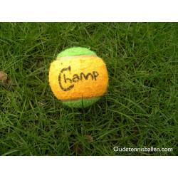 Taiger groen/oranje tennisbal