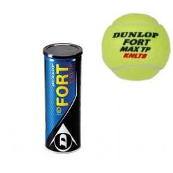 Dunlop Fort Max TP KNLTB 3-TIN GEEL