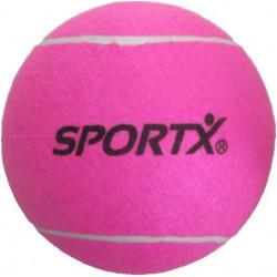 SportX Jumbo tennisbal XL - 22 CM roze