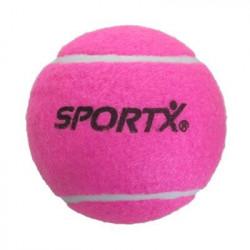 SportX Jumbo tennisbal L - 13 CM roze
