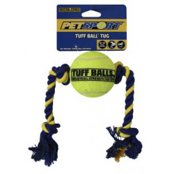Mini Tuff Ball Tug 6cm, Rope 32cm