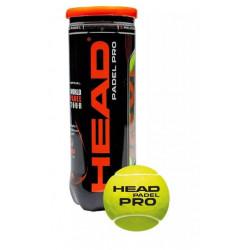 HEAD - PADELBALLEN PRO GEEL