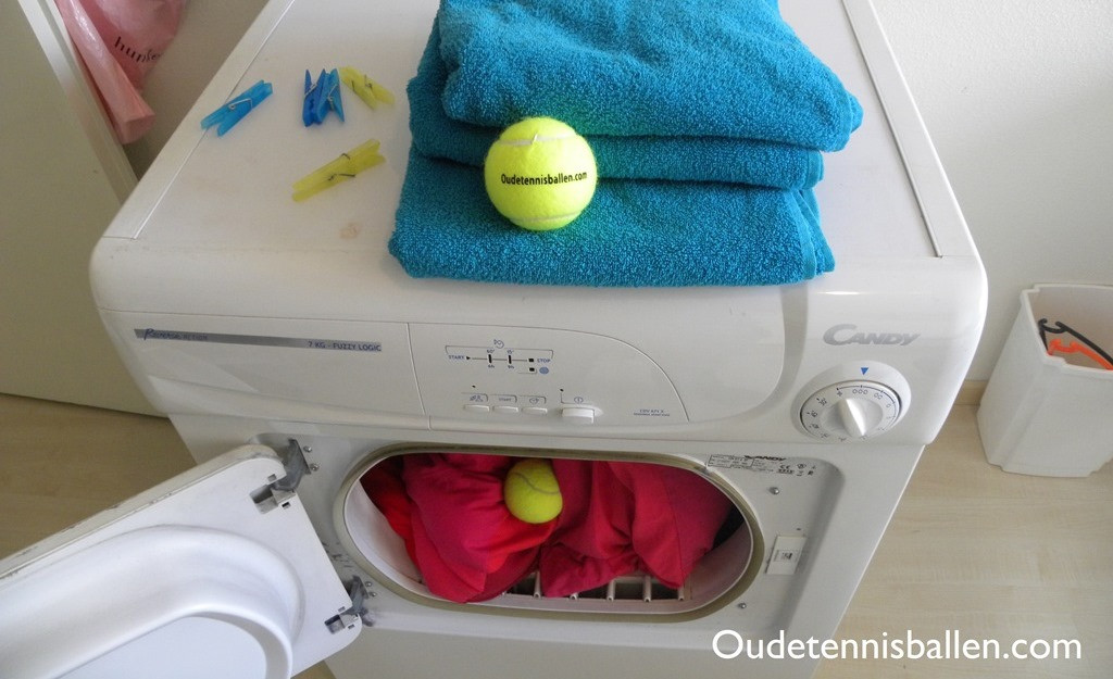 Used old balls for the dryer